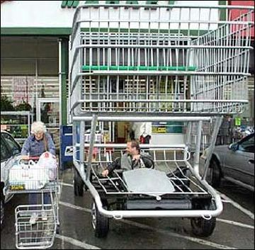 Big shopping cart